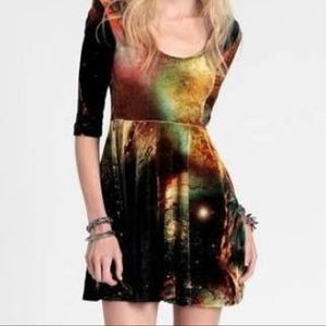 Evil Twin Galaxy Skater Dress